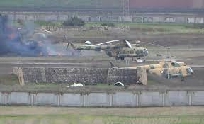 هجوما عنيفا على مطار دير الزور من قبل تنظيم داعش