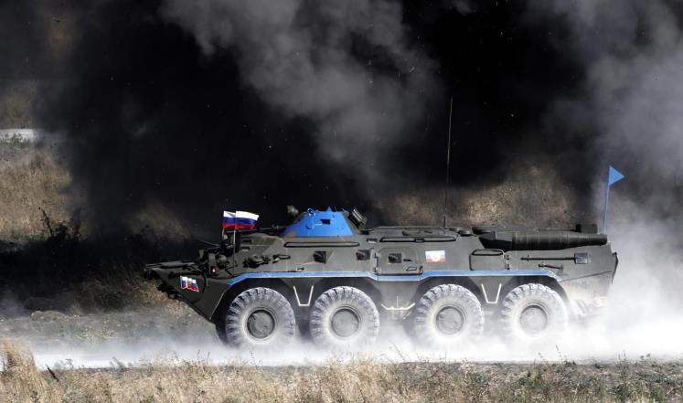 مقتل خمسة عسكريين روس علي الاقل  بالساحل السوري