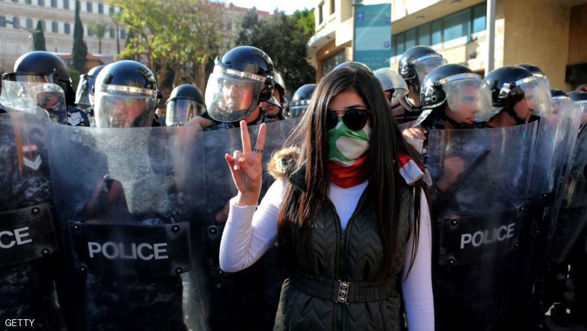 لبنانيون.. ضد الضرائب