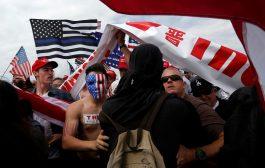 صدامات خلال تظاهرة مؤيدة لترمب في كاليفورنيا