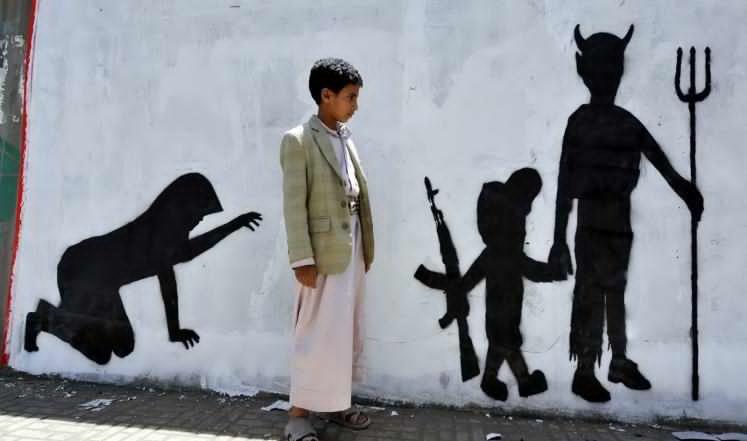 وضع كارثي لأطفال في اليمن