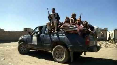 البيضاء :الحوثيون يقتحمون قرية ويهجرون أهلها