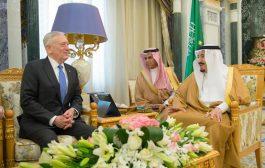 الملك سلمان يلتقي وزير الدفاع الأميركي