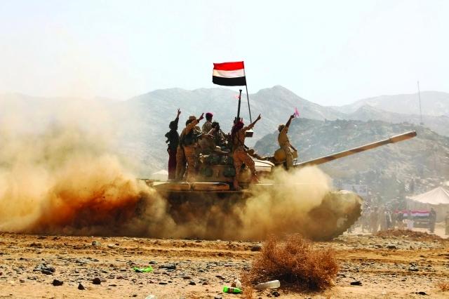 التحالف العربي يقوم باسعدادا لمعركة صنعاء