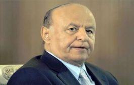 الرئيس هادي يعزي القيادة السودانية في استشهاد خمسة جنود سودانيين في اليمن