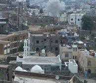 قذيفة حوثية تحصد ارواح 3 مدنيين واصابة اخرين في حي صينه بتعز