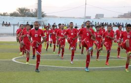 المنتخب الوطني الأول لكرة القدم يواصل معسكره في المكلا.