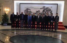وفد الاحزاب السياسية اليمنية للصين يلتقي بمسؤولي العلاقات الخارجية في الحزب الشيوعي الصيني