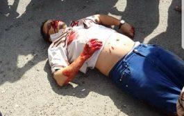 مسلحون يطلقون النار على مكتب الجوزات ويقتلون مواطن في تعز