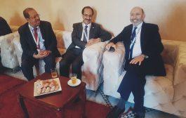 وزير المغتربين يلتقي عمدة مدينة مراكش بالمغرب