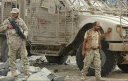 انفجار عبوة ناسفة يخلف جرحي وقتلى في الحزام الأمني بأبين