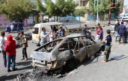 مقتل إمرأة وجرح آخرين بقصف حوثي على مدينة تعز