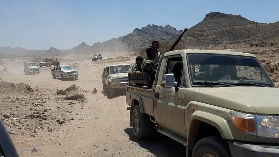 قوات الحزام الأمني والقوات المشتركة تفشل عملية تسلل للحوثيين باتجاه قعطبه