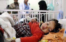 100 الف حالة يشتبه اصابتها بالكوليرا في اليمن
