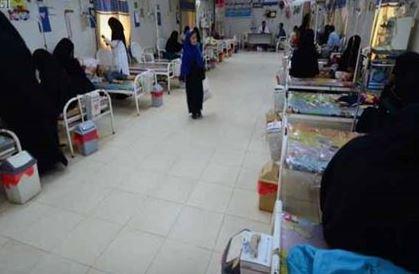 تعز: وفاة امرأة بمرض الكوليرا