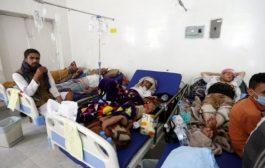 تقرير رسمي صادم بعدد ضحايا الكوليرا بتعز