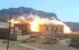 وزارة حقوق الانسان تدين تفجير منازل المدنيين في حجور وتؤكد: