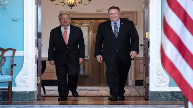 الأمم المتحدة ترد على تصريحات بومبيو بشأن اليمن: يجب دعم غريفيث