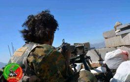 الجيش الوطني يصد محاولة تسلل للحوثيين في جبهة الصلو- الدمنة بتعز