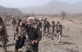 الجيش الوطني يستعيد سوق الطاحون ومواقع استراتيجية في مديرية الحشاء غرب الضالع