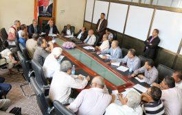 اجتماع بتعز يناقش الدراسات الخاصة بالمشاريع الخدمية