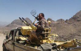 قتلى وجرحى من مسلحي الحوثي في مواجهات مع الجيش بمديرية الحشاء بالضالع