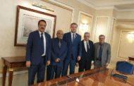 الامين العام للحزب الاشتراكي اليمني والوفد المرافق له يلتقي قيادات حزب روسيا الموحد