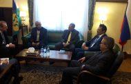 السقاف يبحث مع المبعوث الخاص للرئيس الروسي مستجدات الوضع في اليمن