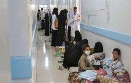 تعز : 63 حالة وفاة بوباء الكوليرا و 22200 حالة مصابة بالاسهالات المائية الحادة في النصف الأول من العام الحالي