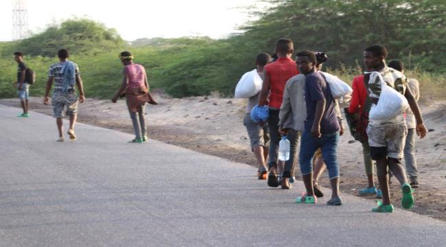 تقرير يكشف الإعداد المأهولة لتدفق الأفارقة الى اليمن