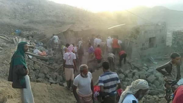 مقتل ستة افراد من اسرة واحدة غرب مدينة تعز