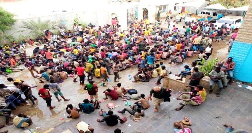 منظمة الهجرة الدولية تنفي علاقتها باقامة أي مخيم للمهاجرين الأفارقة بمحافظة اب