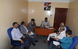 مدير عام  دمنت خدير يعقد اجتماع دوري بالاجهزة التنفيذية في المديرية