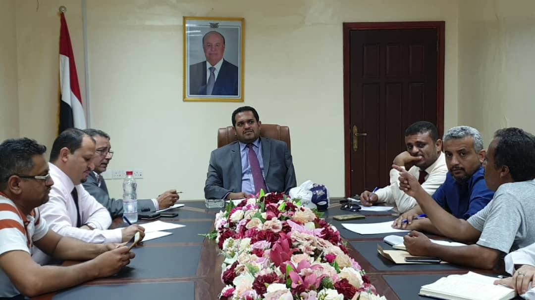 وزارة حقوق الإنسان تناقش سبل تطوير الأداء الإداري والفني بالوزارة
