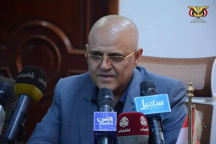 بعد يوم من وصوله العاصمة المؤقتة عدن  محافظ تعز يعلن عن حزمة مشاريع تنموية تؤسس للاستثمار في الانسان