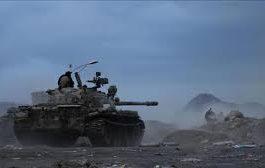 اللواء 22 ميكا يصد هجوم لميليشيا الحوثي شمال مدينة تعز