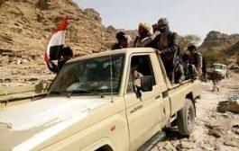 إحتدام المواجهات في الضالع والقوات الحكومية تسيطر على مناطق جديدة في مديرية كتاف البقع