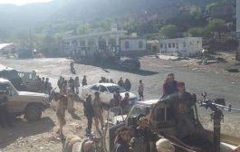 القوات المشتركة تحرر معسكر القوات الخاصة وجبل وعل شمال الضالع