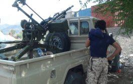 قوات اللواء 30 مدرع تكسر هجوم لميليشيا الحوثي غرب مديرية قعطبة بالضالع