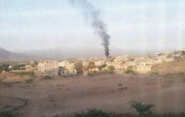 العمالقة تدمر اليات عسكرية للحوثيين شمال الضالع