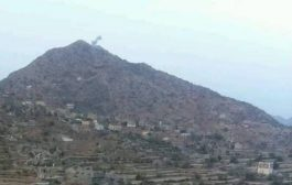 تعزيزات عسكرية  كبيرة لميليشيا الحوثي الى جبهة حيفان