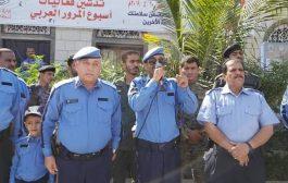 امن العاصمة عدن يدشن أسبوع المرور العربي