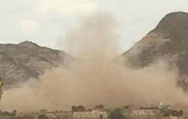 ميليشيا الانقلاب تقصف المدنيين بقعطبه شمال الضالع