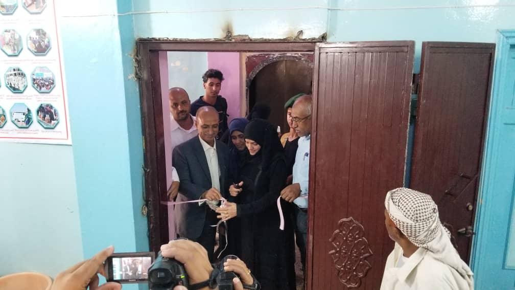 مؤسسة نحن هنا تدشن افتتاح مشروع العيادة الرمضانية المجانية في مدينة تعز