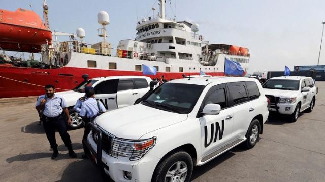 فريق من الحكومة اليمنية يشارك  في لقاء دعا له مكتب المبعوث الأممي في العاصمة الأردنية عمان