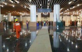 اشتراط الرئيس هادي يتسبب بتاجيل افتتاح مطار الريان بمحافظة حضرموت