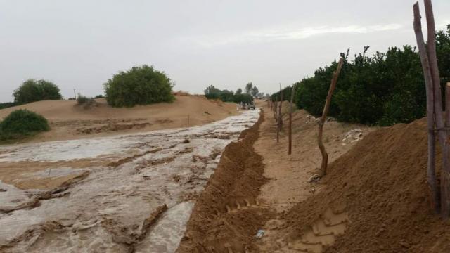 وفاة طفلين في مأرب جراء تدفق سيول الامطار