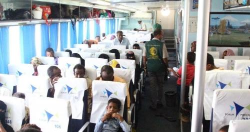 إعادة 120 لاجئاً صومالياً باليمن إلى بلادهم