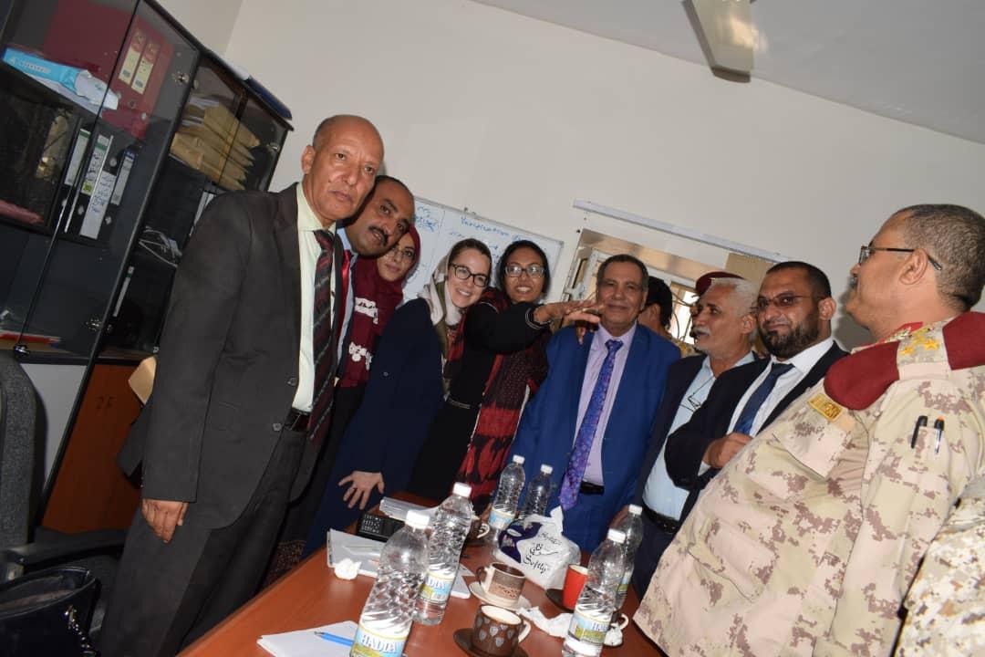 تعز: الصنوي يلتقي فريق العقوبات الدولية