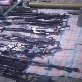 ضبط كميات اسلحة في احد المخازن بعدن